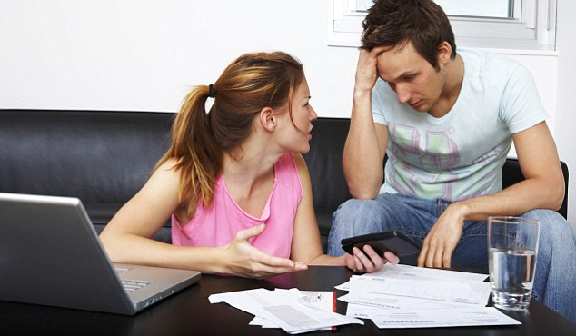 marital issues because of debt