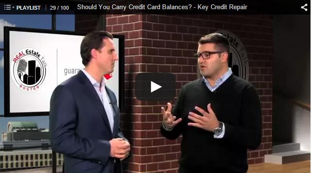 Credit card balances.