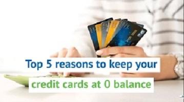Top 5 Reasons 0 Balance